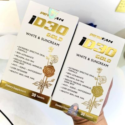 công dụng iD30 Gold White And Suncream