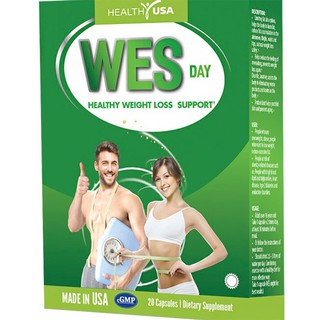 Thành Phần HEALTHY USA WES DAY Healthy Weight Loss Support: