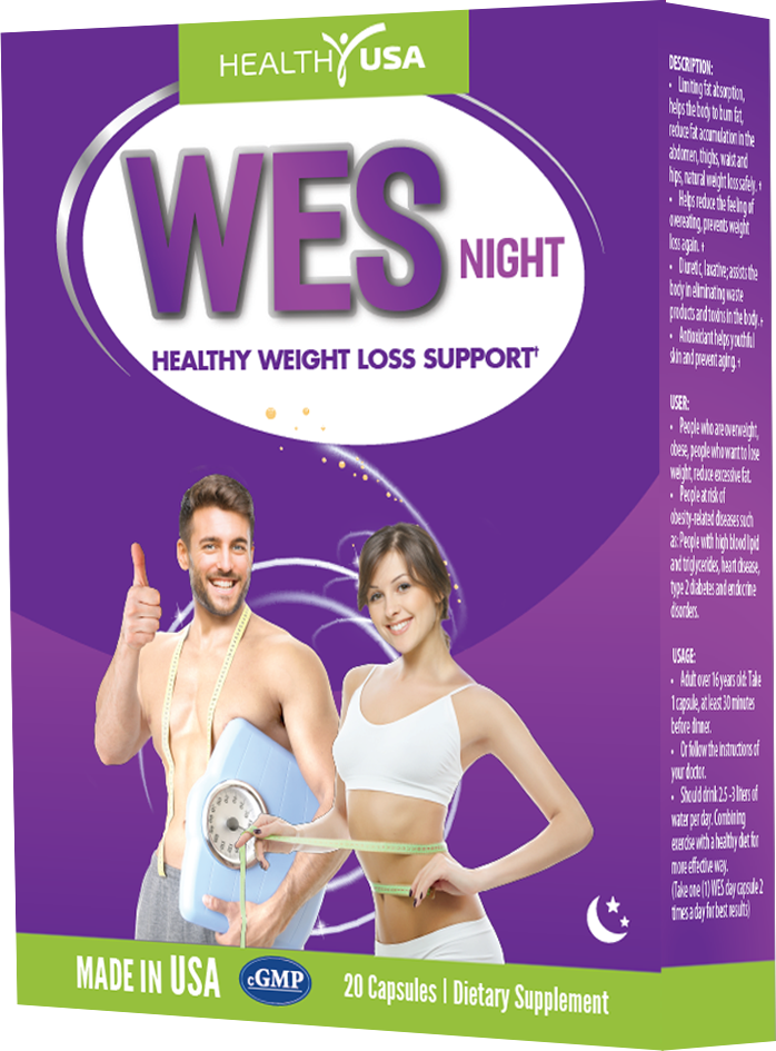 Thành Phần HEALTHY USA WES NIGHT Healthy Weight Loss Support: