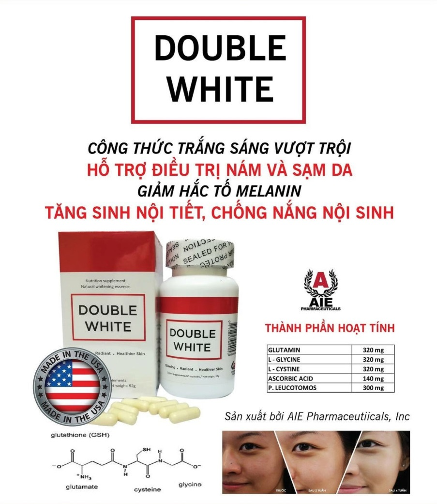 cherry spa công dụng Double White