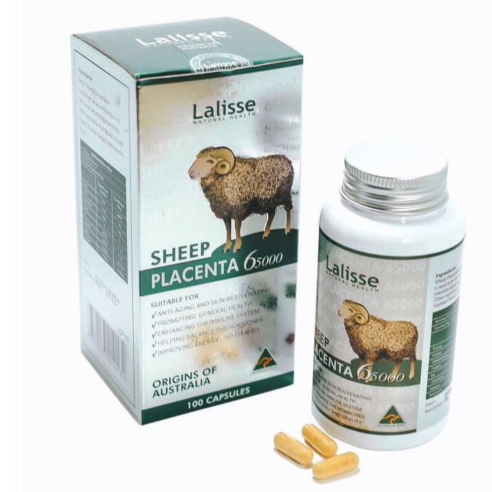 cherry spa công dụng Lalisse SHEEP PLACENTA 65000